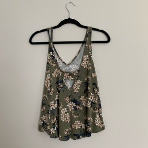 American Eagle Outfitters Tops - Patterned Tank Top